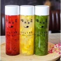 纖果美顏組 (300cc x6 瓶裝) -鮮萃抹茶、鳳梨鮮果露、蔓越莓鮮果露各2